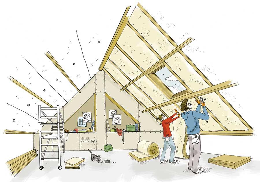 Maison écologique, construire pas à pas - Atelier Emilie Gayet